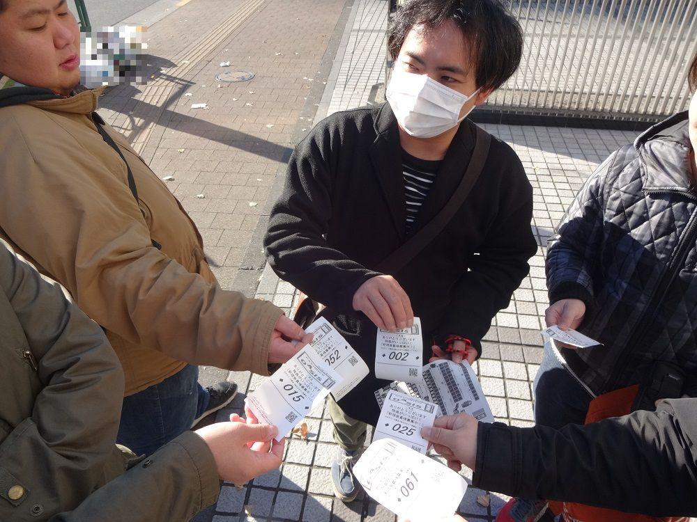 第706回連れ打ち結果報告 オアシス飯田橋店